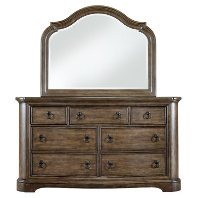 Aurora 7 Drawer Dresser with Mirror