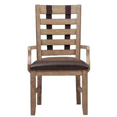Fort Oglethorpe Rustic Arm Chair