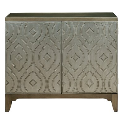Deanery Metallic Bar Cabinet