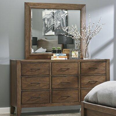Russet 9 Drawer Dresser