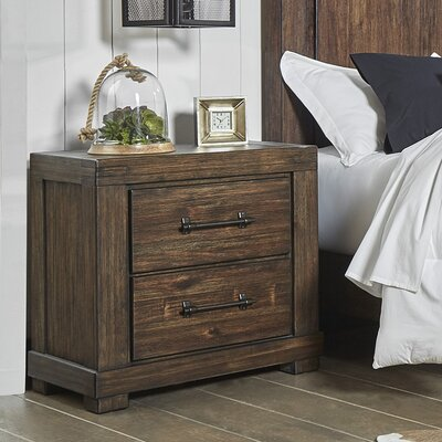 Wyckoff 2 Drawer Nightstand
