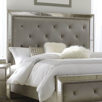 Halstead Upholstered Panel Headboard Size: King/California King