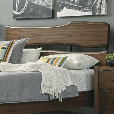 Russet Open-Fame Headboard Size: Queen