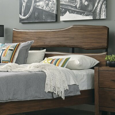 Russet Open-Fame Headboard Size: King/California King