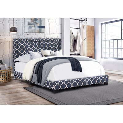 Crichton Upholstered Panel Bed Size: Queen