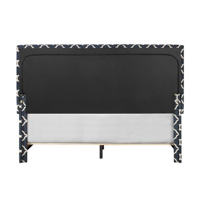 Crichton Upholstered Panel Bed Size: King