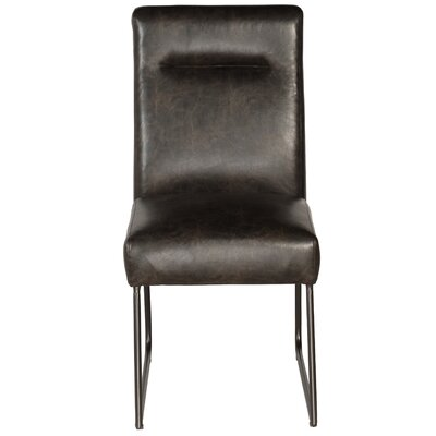 Evonne Industrial Upholstered Dining Chair