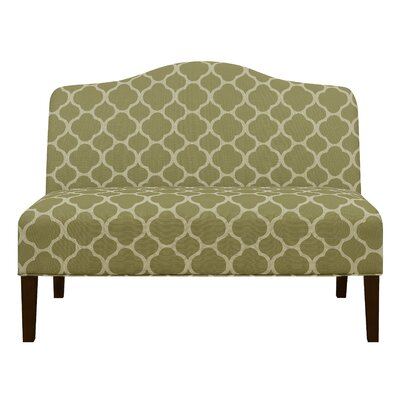 Heitmann Armless Arched Back Upholstered Sofa