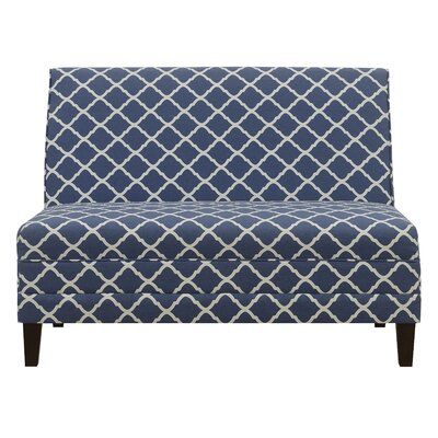 Weatherton High Back Armless Upholstered Sofa