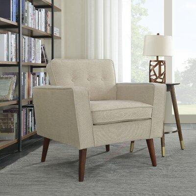 Vadnais Armchair Upholstery: Beige