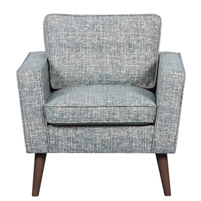 Vadnais Mid Century Modern Armchair Upholstery: Blue