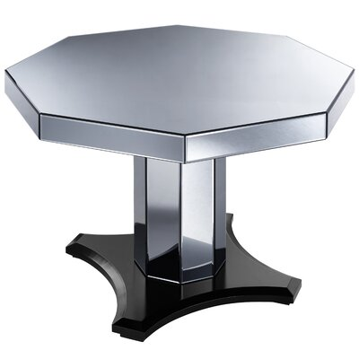 Brocklesby Smoked Mirrored Octagon Dining Table