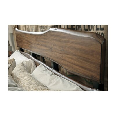 Russet Panel Bed Size: King
