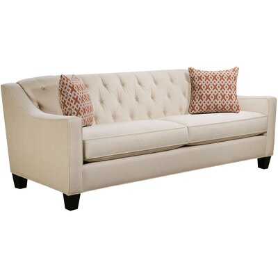 Ingersoll Sofa Body Fabric: Hobnob Vanilla, Pillow Fabric: Essex Citrine