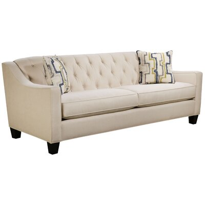 Ingersoll Sofa Body Fabric: Hobnob Vanilla, Pillow Fabric: Exosure Denim