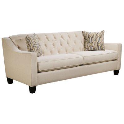 Ingersoll Sofa Body Fabric: Hobnob Vanilla, Pillow Fabric: Zeus Zest