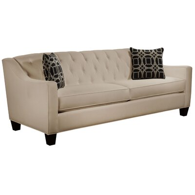 Ingersoll Sofa Body Fabric: Gaberdine Raffia, Pillow Fabric: Charlestown Marble