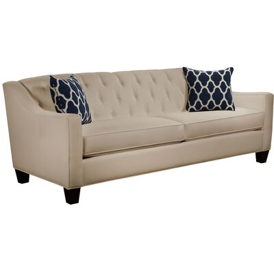 Ingersoll Sofa Body Fabric: Gaberdine Raffia, Pillow Fabric: Strathmore Oceanside