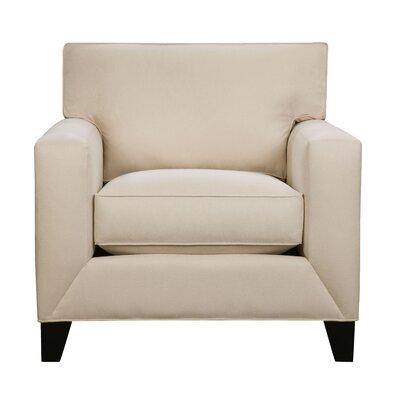 Denell Track Armchair Upholstery: Vanilla