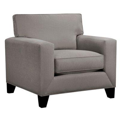 Denell Track Armchair Upholstery: Platinum