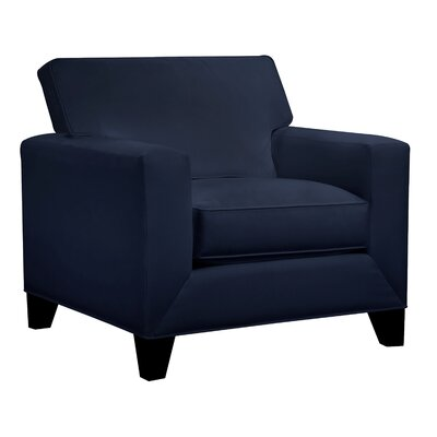 Denell Track Armchair Upholstery: Navy