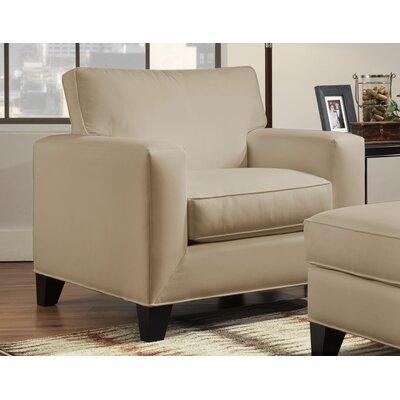 Denell Track Armchair Upholstery: Raffia