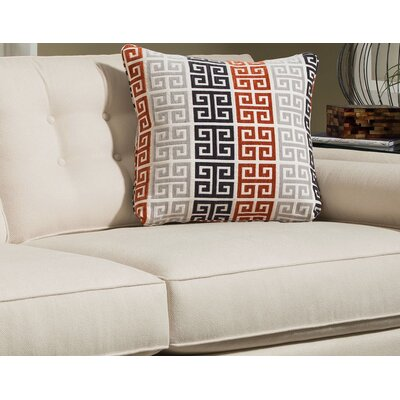 Wildermuth Persimmon Throw Pillow