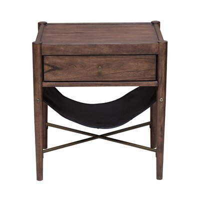 Mervela Modern Retro Style End Table
