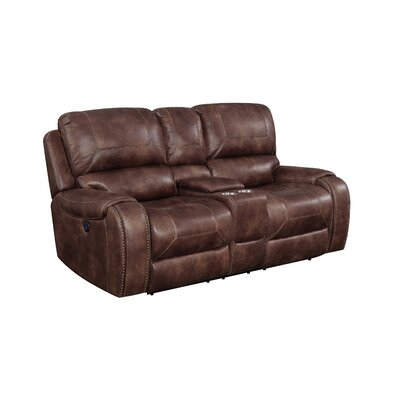 Jaymie Power Console Reclining Loveseat
