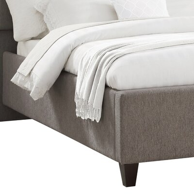 Pollman Upholstered Panel Bed Size: Queen