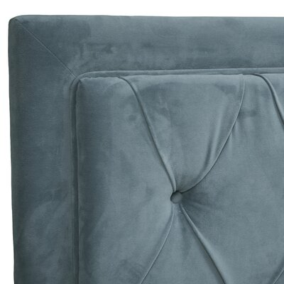 Aliana Tufted Upholstered Panel Headboard Size: King