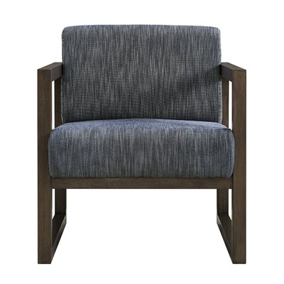 Creager Armchair Upholstery: Blue