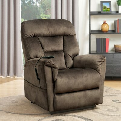 Power Lift Assist Recliner Color: Serengheti Light