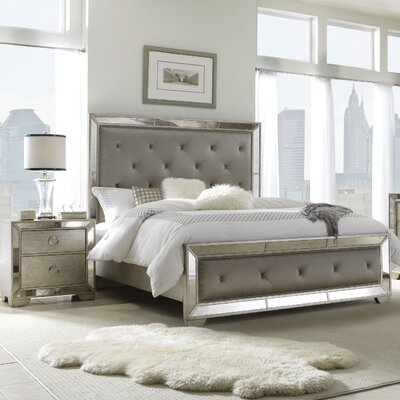 Halstead Upholstered Panel Bed Size: Queen