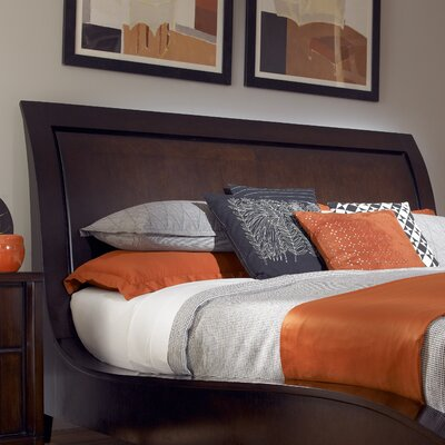 Amaretto Sleigh Headboard Size: California King