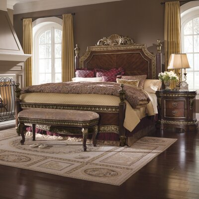 pulaski bedroom sets. Low Price Pulaski Del Corto Four Poster Bedroom Collection Buy
