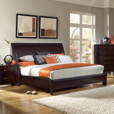 Low Price Pulaski Amaretto Sleigh Bedroom Collection