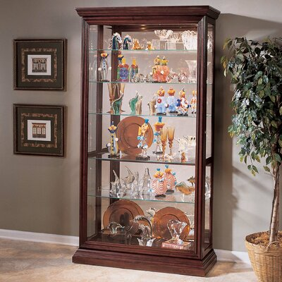 Nancy Eden Lighted Curio Cabinet
