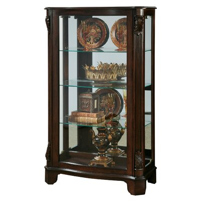 Akerman Mantel Lighted Curio Cabinet