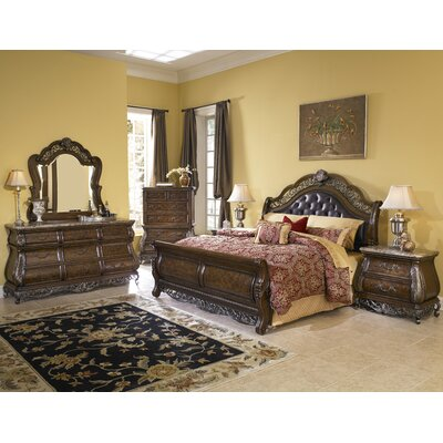 Josselyn Sleigh Customizable Bedroom Set