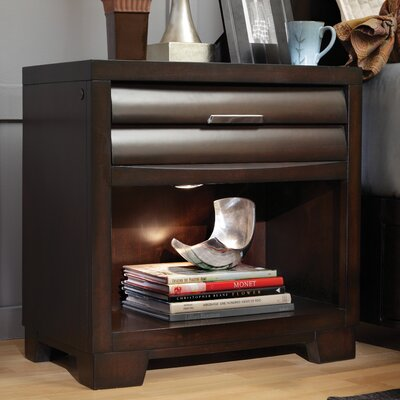 Martinsville Sable 1 Drawer Nightstand