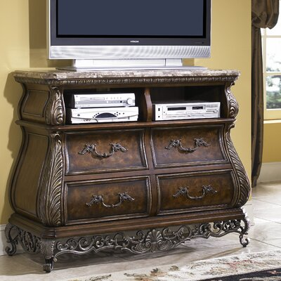 Josselyn 4 Drawer Media Chest