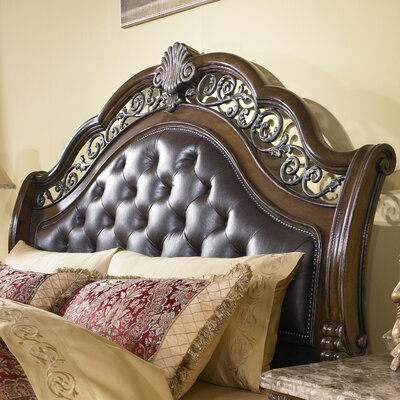 Josselyn Upholstered Sleigh Headboard Size: King