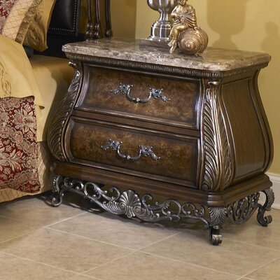 Josselyn 2 Drawer Nightstand