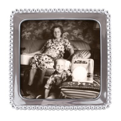 Beaded Square Picture Frame 3710