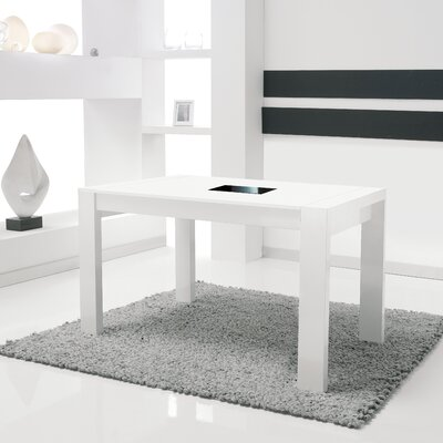 Dycus Extendable Dining Table Finish: White