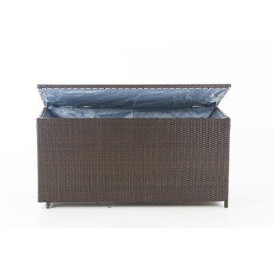 635 L Aufbewahrungsbox Kudde | Dekoration > Aufbewahrung und Ordnung > Kästchen | Brown | Korbgeflecht - Rattan | Urban Designs