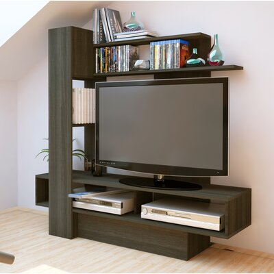 Maloy 55.1 Entertainment Center Color: Gray Anthracite