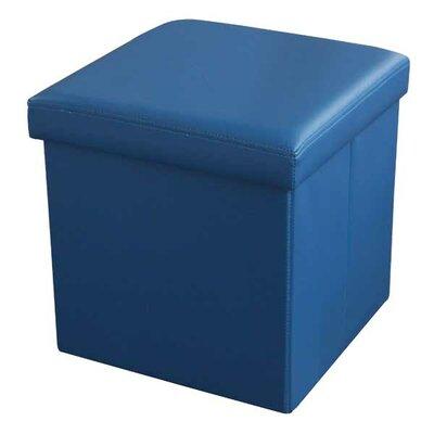 Storage Ottoman Upholstery: Blue