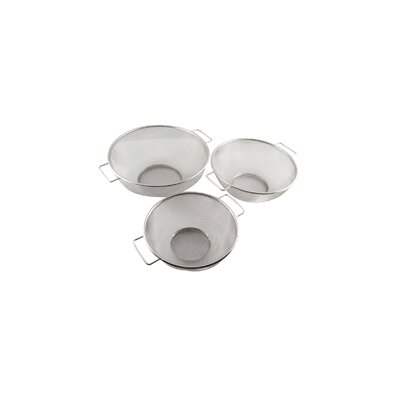 3 Piece Stainless Steel Mesh Strainer Set MC10330